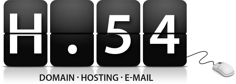 H54 - DOMAIN . HOSTING . E-MAIL